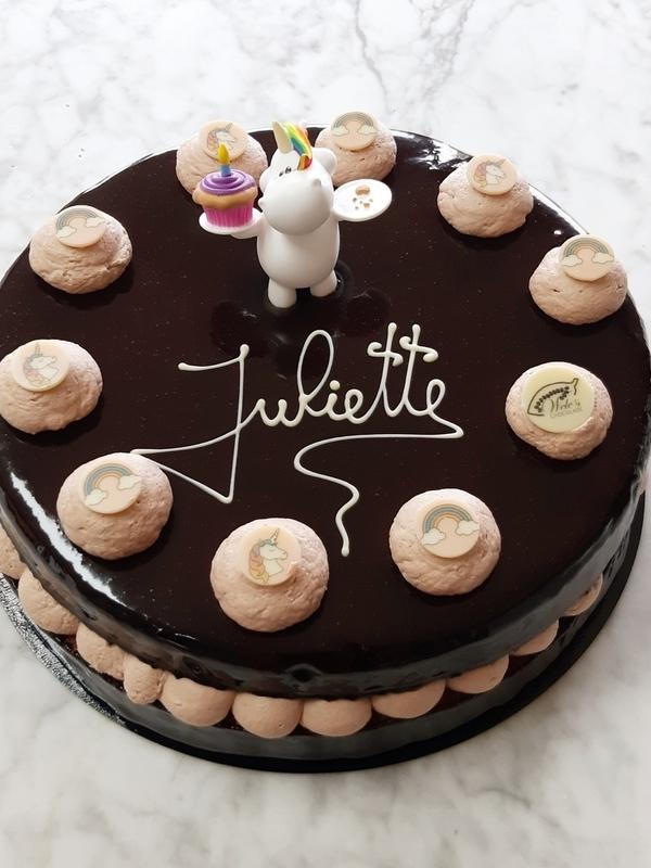 Chocomousse taart 10 personen