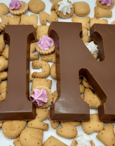 Chocolade letter puur