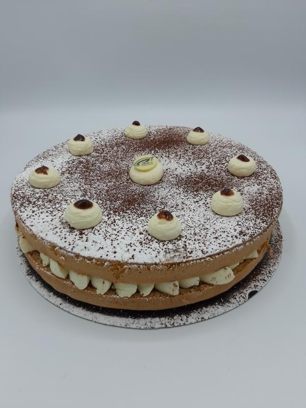 Tiramisu taart 8 personen