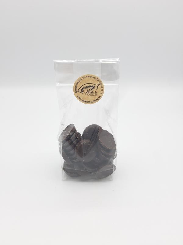 Chocolade schijfjes SUIKERVRIJ